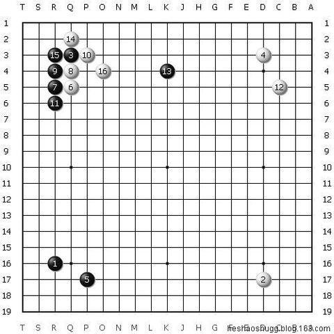 不會圍棋大雪崩定式?知道脫先簡化型就行了 - 每日頭條