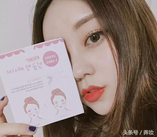 韓國人出的瘦臉神器,就是一張膠帶,太牛了! - 每日頭條