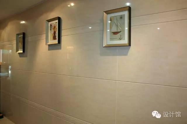 客廳牆。貼瓷磚好看嗎? - 每日頭條