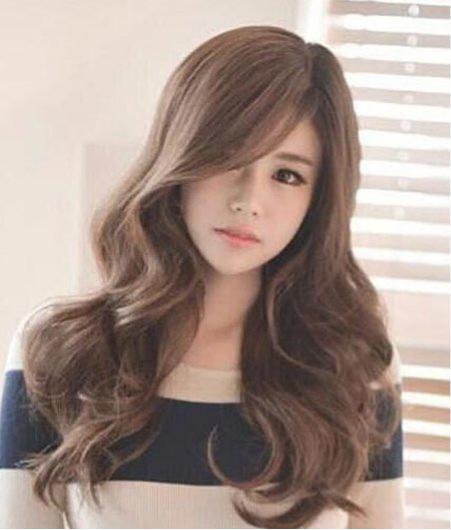 韓式大波浪長捲髮 一秒擁有女神范兒 - 每日頭條
