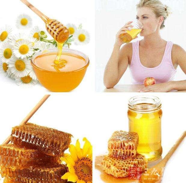 每天早上喝一杯蜂蜜水。促進消化。還有美白作用 - 每日頭條