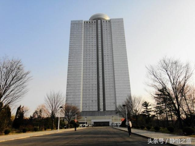 實拍:朝鮮最頂級飯店之一的羊角島國際飯店 - 每日頭條