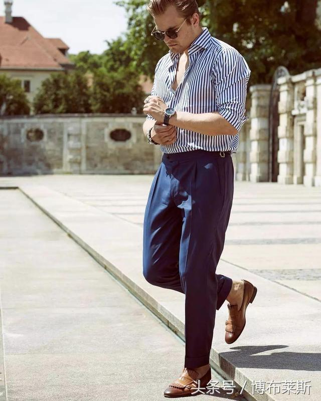 男士時尚:7套經典「襯衫褲子」搭配 - 每日頭條