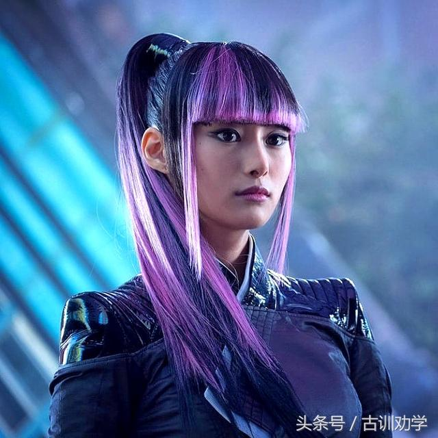 忽那汐里Kutsuna Shiori在《死侍2》中演活雪緒Yukio爆紅 - 每日頭條
