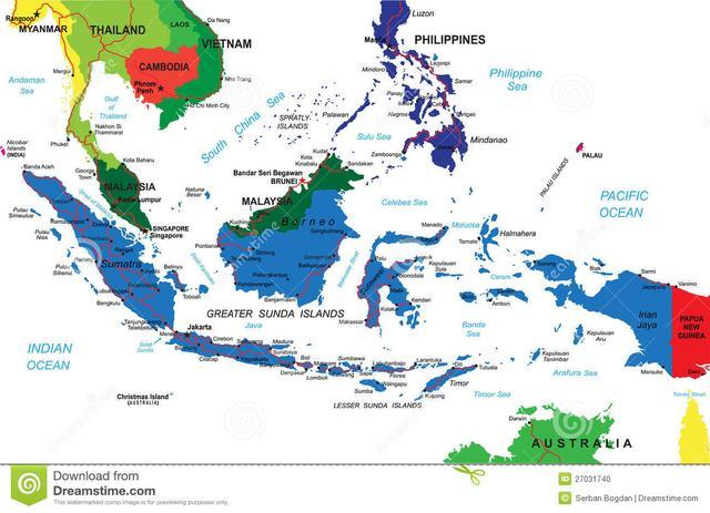 靠殖民者統一起來的東南亞第一大國,東西橫跨5500km,亞運會ing - 每日頭條