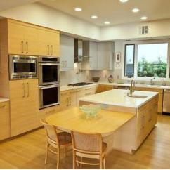 Hickory Kitchen Island Designs Pictures 现代厨房设计趋势之双色橱柜 每日头条 厨房中不同的橱柜风格和双色配色方案是视觉上划分工作区域的绝佳方式 不同颜色的特定墙壁上的厨房岛或储物柜精美地突出厨房设计并刷新空间