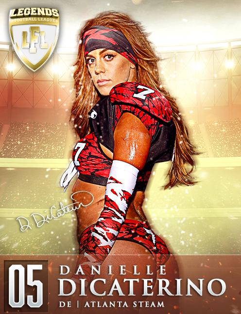 香艷且霸氣!美媒評內衣橄欖球聯盟10大最火辣女球員 - 每日頭條
