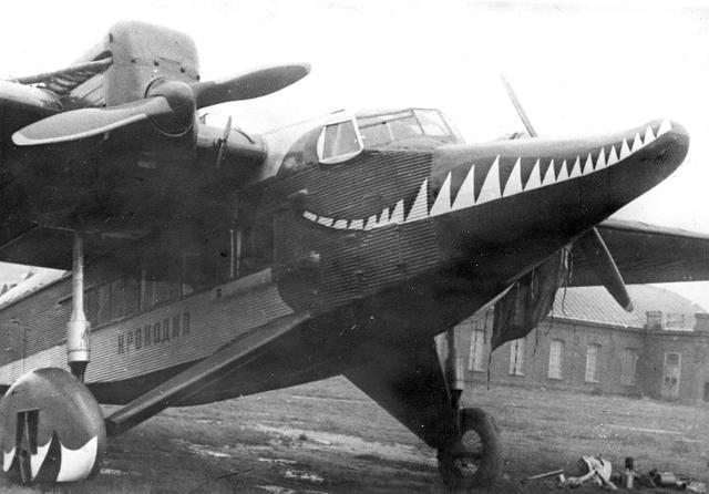 二戰時期最為著名的戰機塗裝:軍用飛機的鯊魚嘴傳說 - 每日頭條