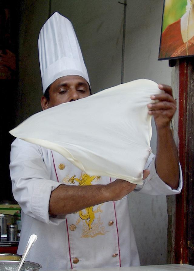 正宗印度飛餅的詳細製作圖解,即好吃,又要觀賞性! - 每日頭條