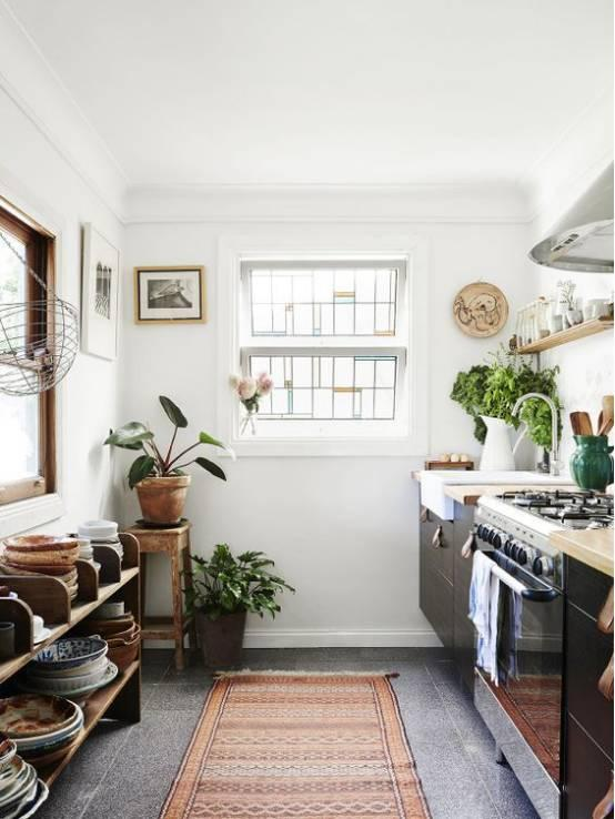 best kitchen rugs 4 stool island 厨房美不美 看地毯就知道 每日头条 放在厨房的地毯防滑是必须的 同时如果能吸水最好