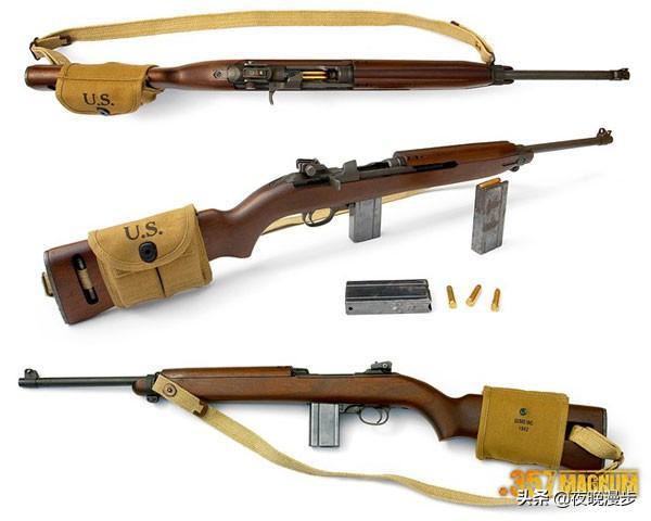 抗戰影視劇輕武器之——M1卡賓槍 - 每日頭條
