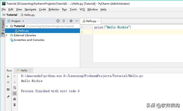 Python搭建開發環境-Anaconda+PyCharm的安裝和入門教程 - 每日頭條