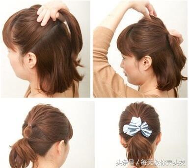 10款日常簡單的女生扎發髮型! - 每日頭條