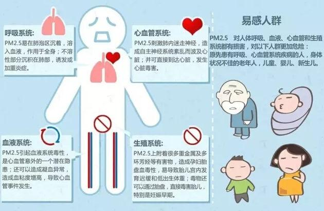 PM2.5對人體有哪些危害?空氣負離子能夠化危為機? - 每日頭條