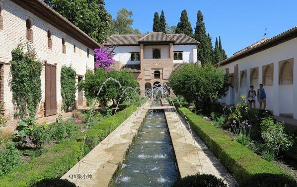 阿爾罕布拉宮:中世紀摩爾人在西班牙建立的格拉納達王國的王宮 - 每日頭條