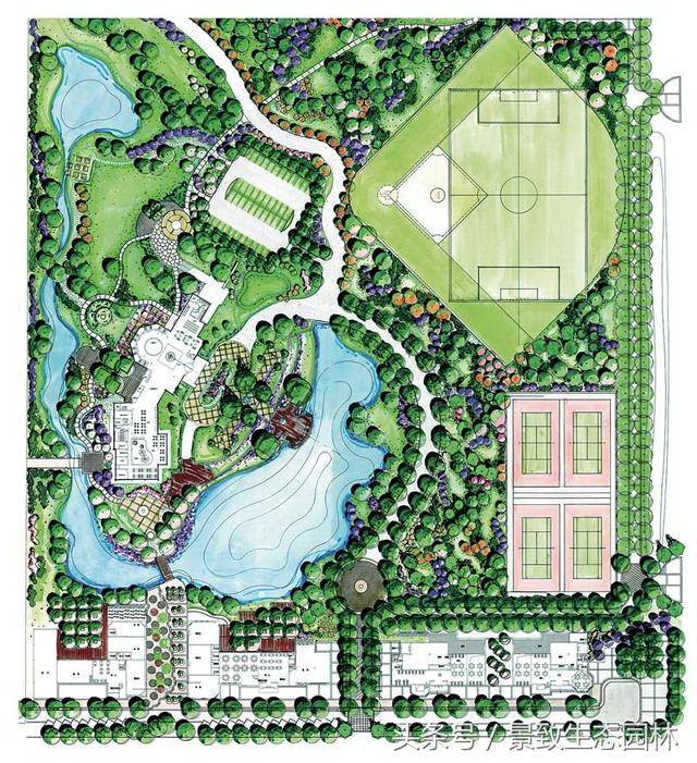 340張廣場公園園林景觀平面圖-(001-121) - 每日頭條