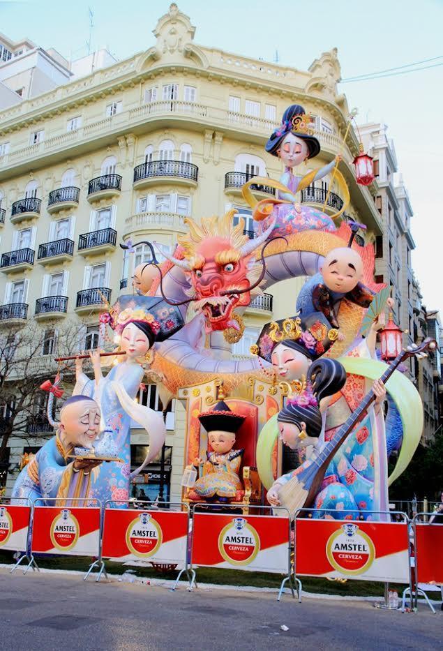 西班牙法雅節 中國風元素實力搶鏡~ - 每日頭條