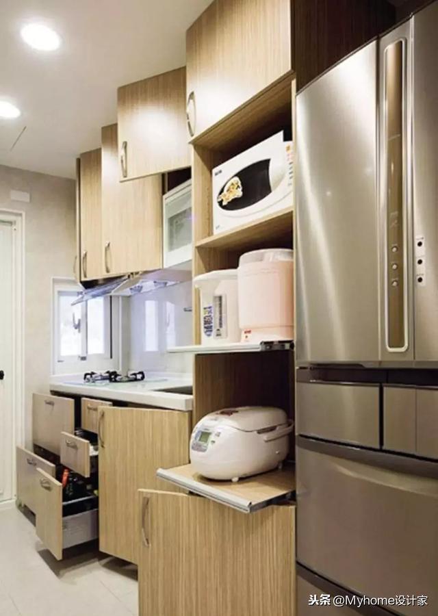 櫥櫃設計3大誤區。你中了嗎?附上8點技巧。讓你家廚房超整齊 - 每日頭條
