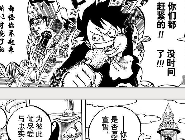 海賊王漫畫871鼠繪漢化情報 大媽是怎麼得到的魂魂果實能力的 - 每日頭條