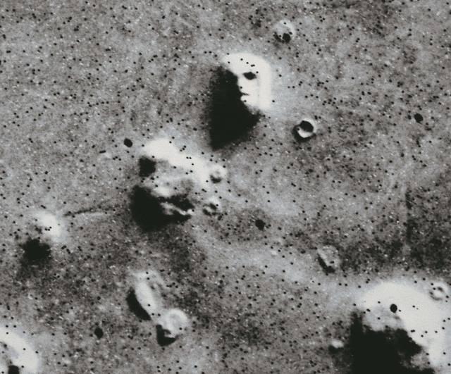 火星人臉之謎 - 每日頭條