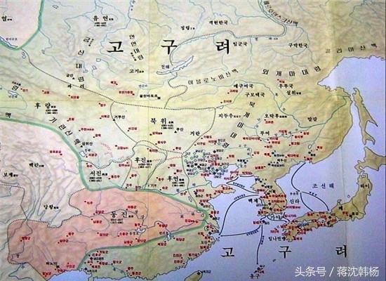 中日韓歷史教科書上的東晉地圖,日本讓人吃驚,韓國的令人捧腹 - 每日頭條