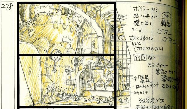 宮崎駿《千與千尋》分鏡欣賞。豐富的細節讓人讚嘆 - 每日頭條