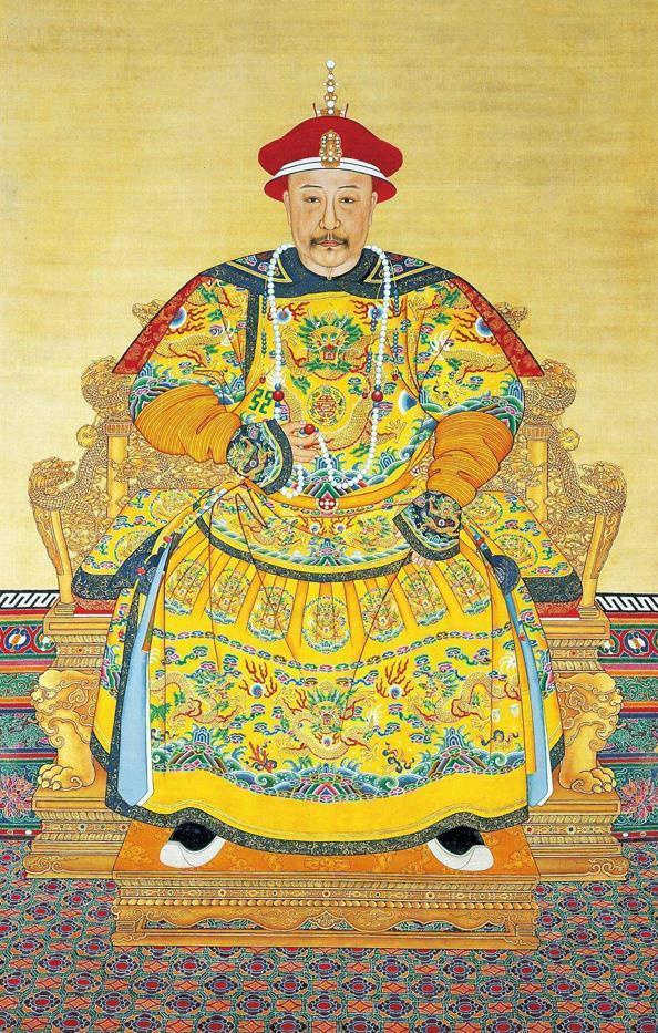 清朝歷代皇帝官方肖像。華貴而又不失帝王威嚴! - 每日頭條
