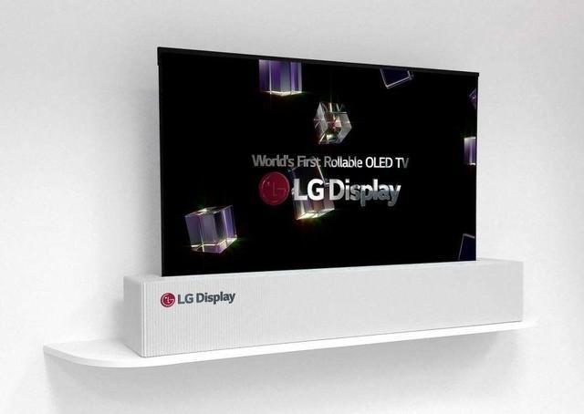 折疊電視終于被LG做出來了,前所未有的創新 - 每日頭條
