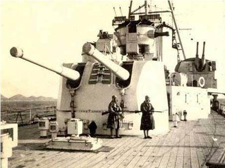 重慶號輕巡洋艦能保存下來對海軍的影響 - 每日頭條