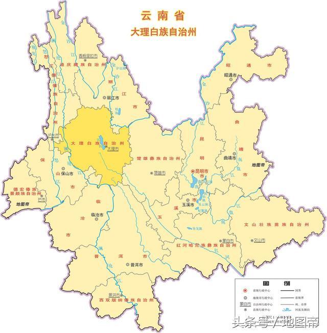 雲南在中國的位置,雲南各市地圖 - 每日頭條