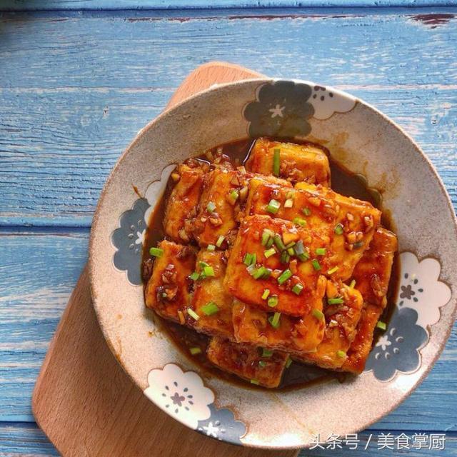 紅燒豆腐即鍋塌豆腐的製作步驟 - 每日頭條