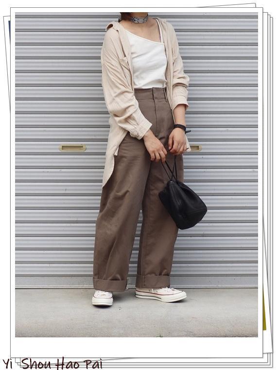 優衣庫的3種平價褲子搭配示範!都是熱門流行款。你有哪一條? - 每日頭條