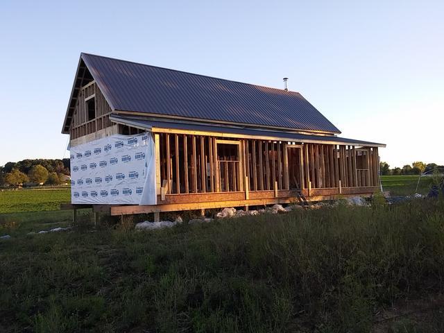 美國農村建房全程實拍 貌似農村紅磚房更加結實 - 每日頭條