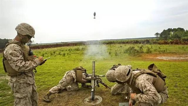 「步卒後援」美國海軍陸戰隊步兵連武器排編制 - 每日頭條