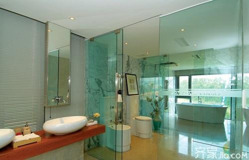 玻璃隔斷門特點有哪些 衛生間玻璃隔斷門安裝注意事項 - 每日頭條
