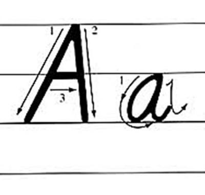 棒極了!26個英文字母,這麼寫,考試至少多加10分! - 每日頭條