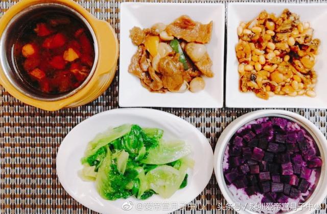 明星月子餐都吃什麼?不同功效月子餐食譜介紹 - 每日頭條