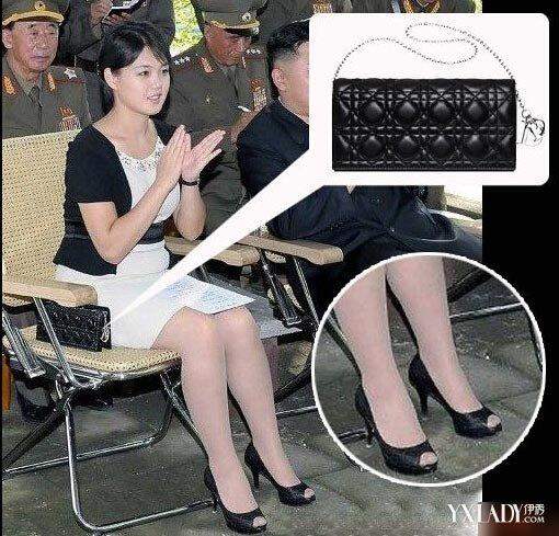 李雪主引領朝鮮潮流秀白嫩美腿 穿高跟鞋怎麼不長肌肉 - 每日頭條
