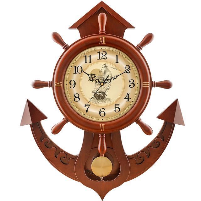 歐式時尚掛鐘,定格在牆上的藝術 - 每日頭條