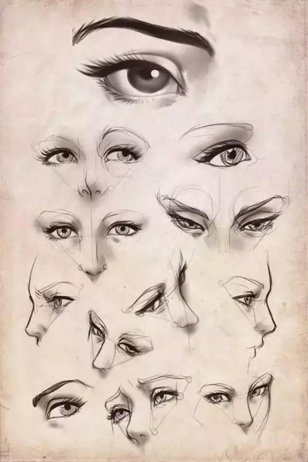 繪畫教程 | 畫眼睛,看這一篇就夠了 - 每日頭條