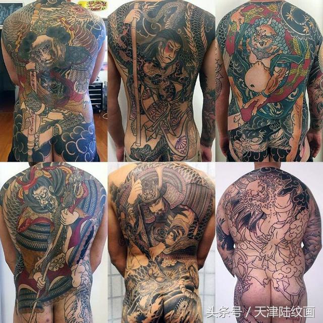 神秘的日本傳統刺青 - 每日頭條