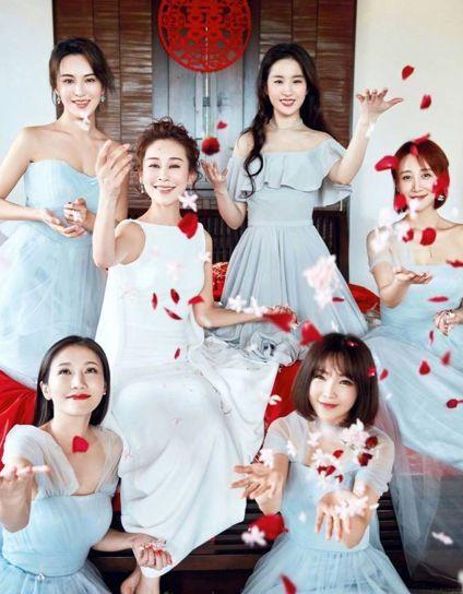 那些伴郎伴娘比新人還搶眼的婚禮,網友說:看了好想去搶親 - 每日頭條