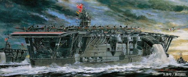 海洋霸主。二戰這十款出名的航母 - 每日頭條