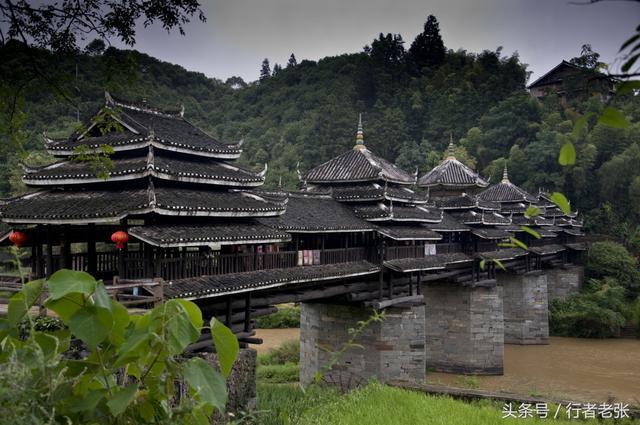 黃金水道畫西江(之二)——三江侗族自治縣,侗寨·鼓樓·風雨橋 - 每日頭條