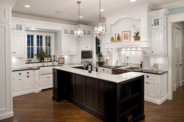 lighting kitchen small carts 厨房照明设计厨房灯光需优先考虑功能照明 每日头条
