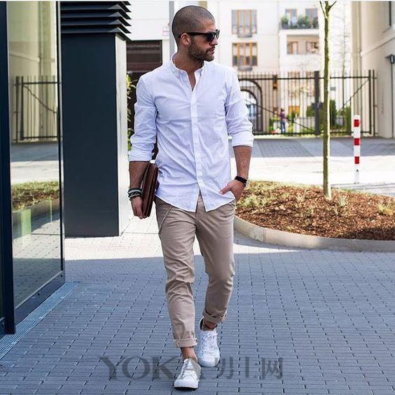 九分褲+運動鞋的時髦穿搭 - 每日頭條