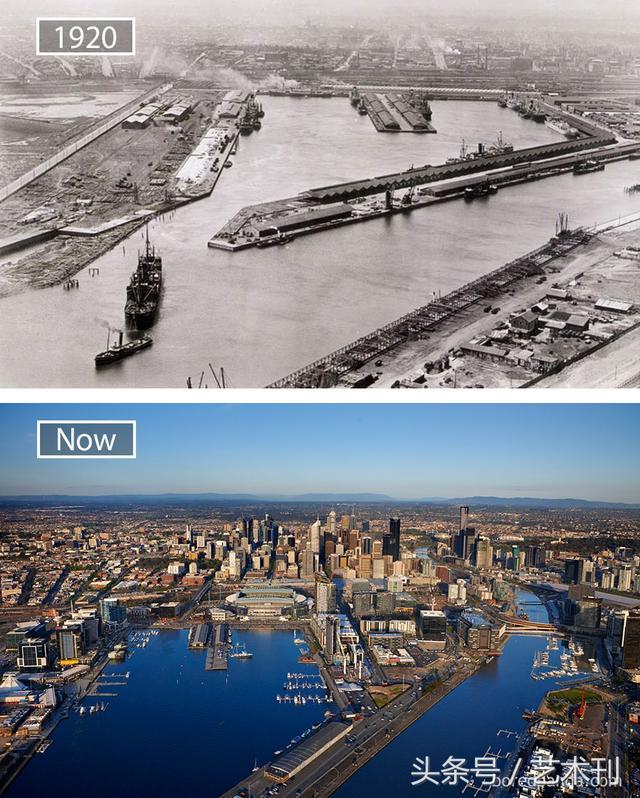 時間真的能改變很多東西,看完這些大城市的巨大變化就知道了 - 每日頭條
