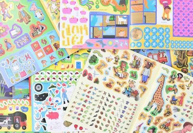 「貼紙遊戲書」顏值爆表的貼紙書!2400多張貼紙,十多種益智遊戲,英國繪本大師之作! - 每日頭條