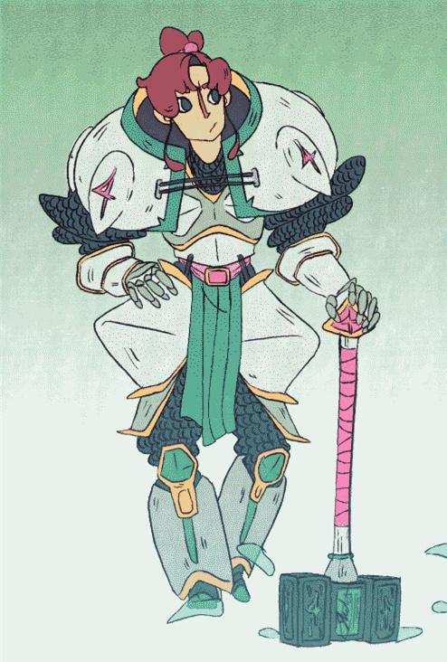 五位美少女戰士RPG動圖(Gif) - 每日頭條
