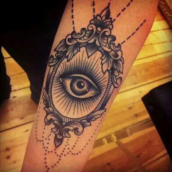 「無尚紋身素材」——你懂得上帝之眼的意義嗎? - 每日頭條